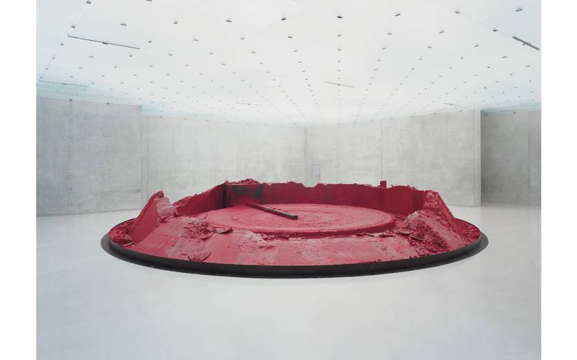 Anish Kapoor, My Red Homeland, 2003