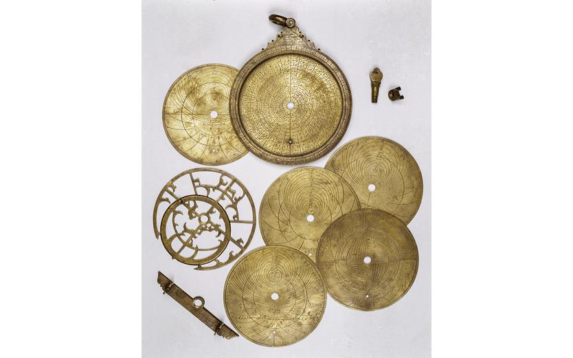 Астролябия Планисфера. Индия. Г. Лахор. 1587-1588 гг.