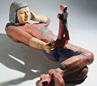 «...И след мой сохрани». Скульптор Аделаида Пологова
