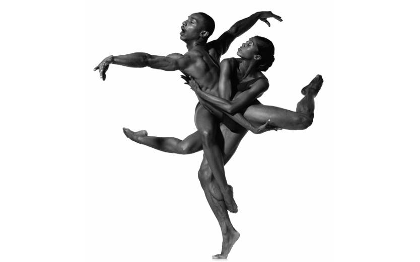 Vikkia Lambert and Uri Sands #1, Alvin Ailey American Dance Theater, photographed in New York City, September 1996