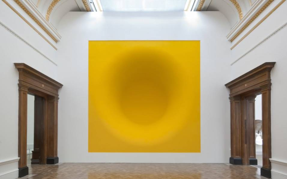 Yellow, 1999 Fibreglass and pigment.