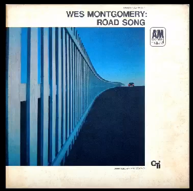 The cover art for Road Song by the artist Wes Montgomery