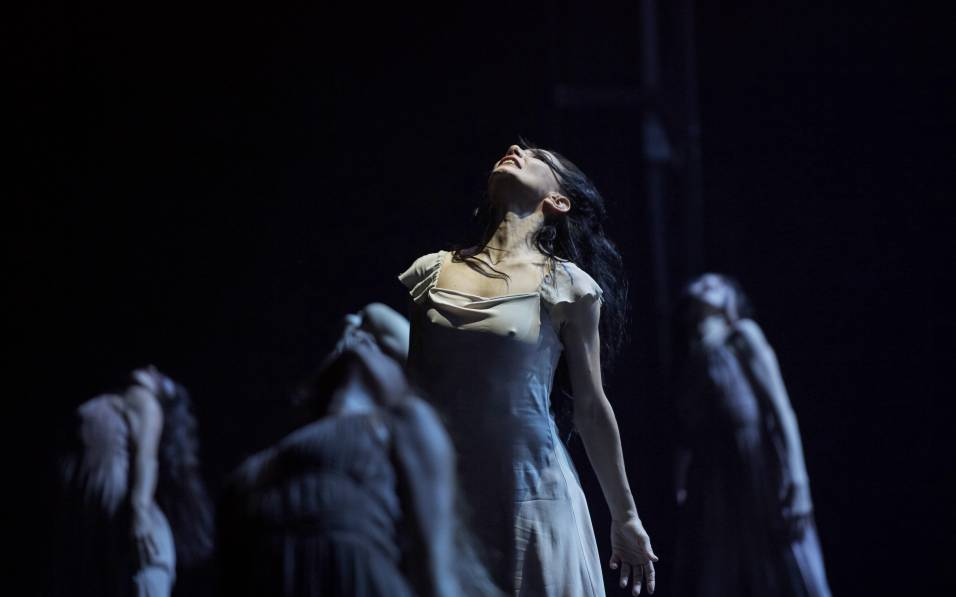 English National Ballet. Tamara Rojo in Akram Khan_s Giselle